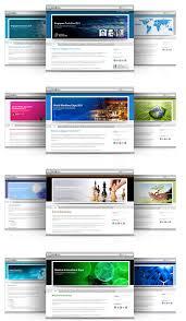 Plantillas de páginas web