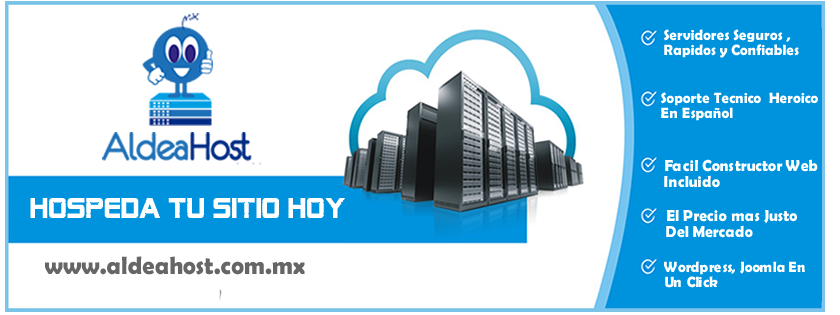 aldeahost web hostng mexico