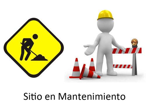 Sitio web en mantenimiento